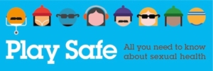 Play Safe All you need to know about sexual health logo