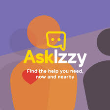 ask izzy find the help you need now and nearby logo