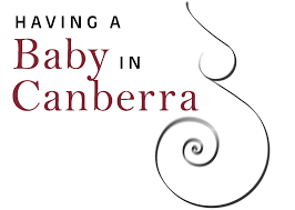 having a baby in canberra logo