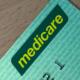 Medicare logo on an Australian Medicare card