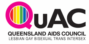 queensland aids council lesbian gay bisexual trans intersex logo