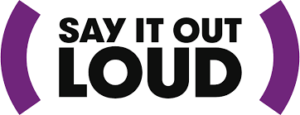 say it out loud logo