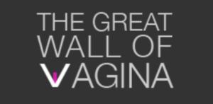 The great wall of vagina logo
