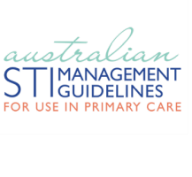 australian sti management guidelines for use in primary care logo